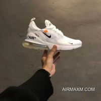 Outlet Women OFF-WHITE X Nike Air Max 270 Sneakers SKU:180229-230