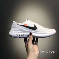 Outlet Women OFF-WHITE X Nike Flex Experience RN 7 SKU:43897-259