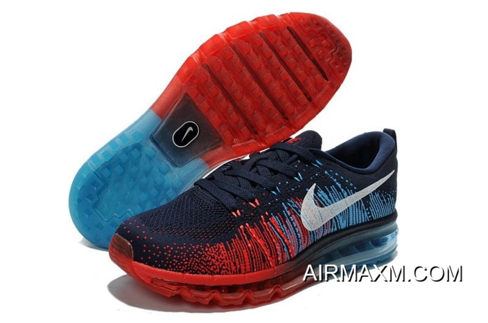 8e42cc87899 Where To Buy Nike Flyknit Air Max 2014 Fire Red Navy Blue