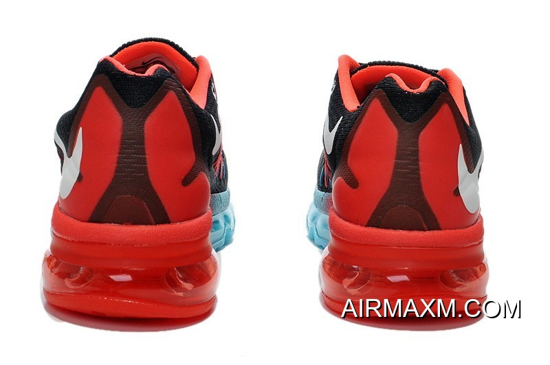 Nike Air Max 2015 Black Blue Fire Red New Release
