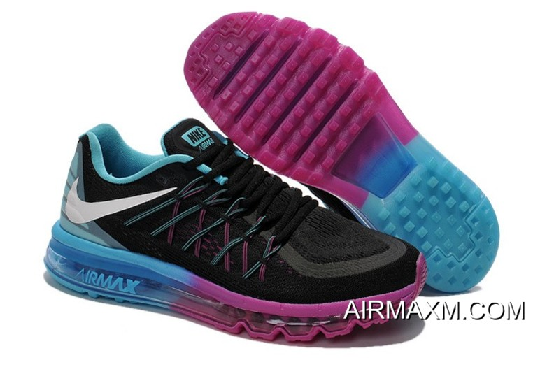 low priced bf073 5f628 ... where can i buy outlet nike air max 2015 women black jade purple  running shoes cc7ac