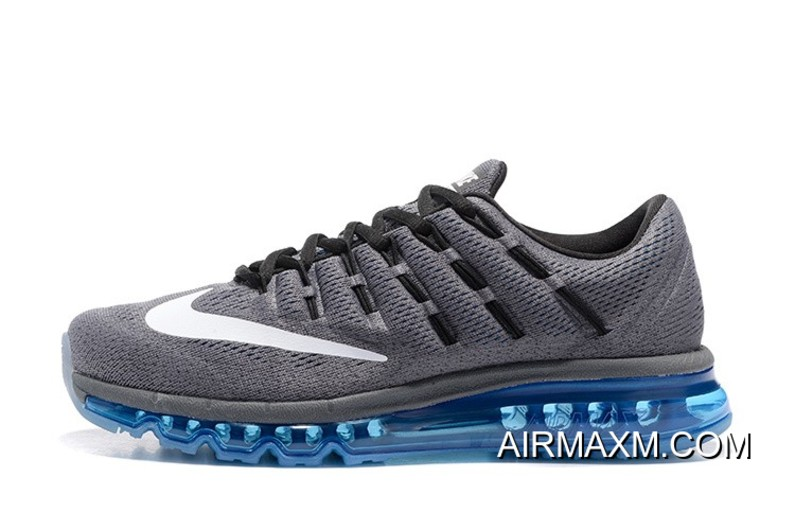 sports shoes f1ce8 b96f2 Women For Sale Nike Air Max 2016 Dark Grey Blue White Black