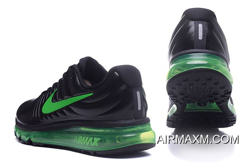 78acda2efc Nike Air Max 2017 Leather Grass Green Black Top Deals, Price: $72.65 ...