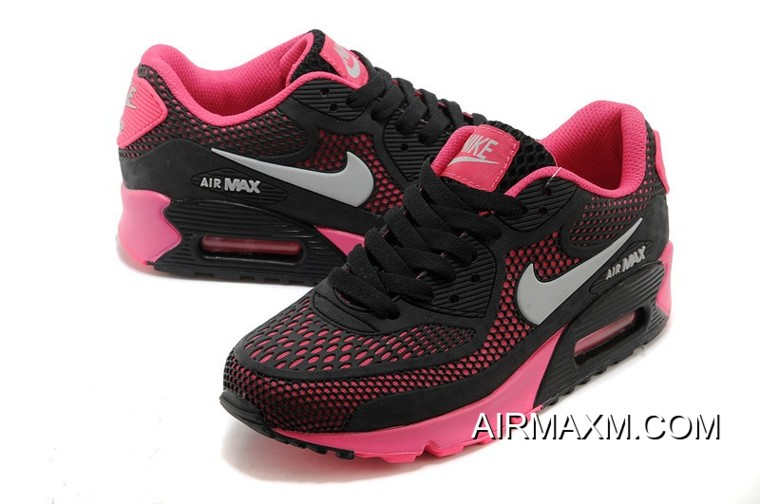 30506e11ca Nike Air Max 90 Essential Black Pink Women New Style, Price: $72.73 ...