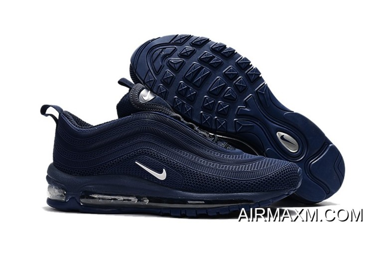 205efb396d58 Discount Nike Air Max 97 KPU Navy Blue White
