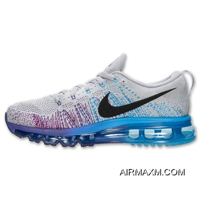 5c5d677dc840e netherlands nike women flyknit air max grey purple blue discount 801cd 740a8