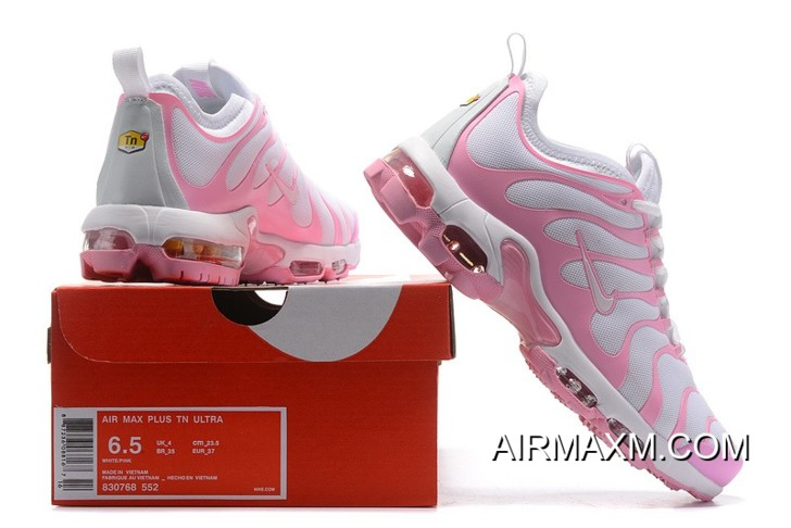 half off 0e34d 2b5da Nike Air Max Plus TN Pink White Women Big Discount
