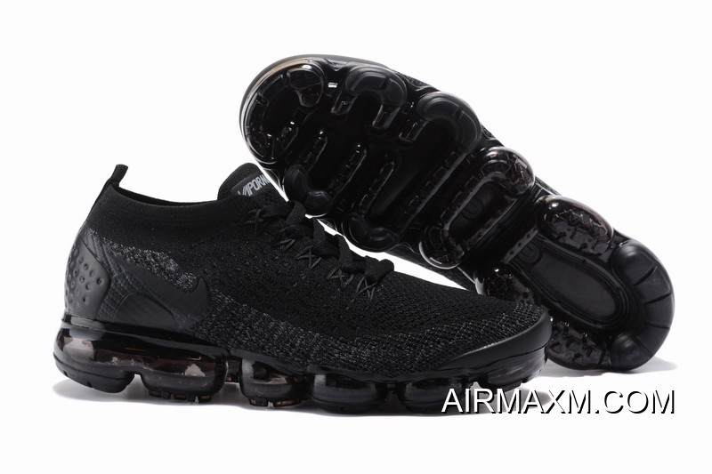 Best Nike Air VaporMax Flyknit 2 All Black febd5ce0a