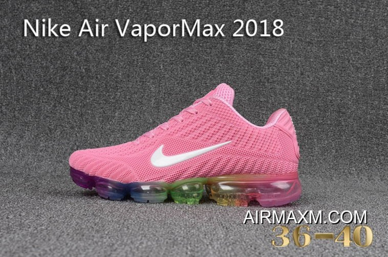 4ac46b51cc54 Super Deals Nike Air Vapormax 2018 Women Pink Colorful