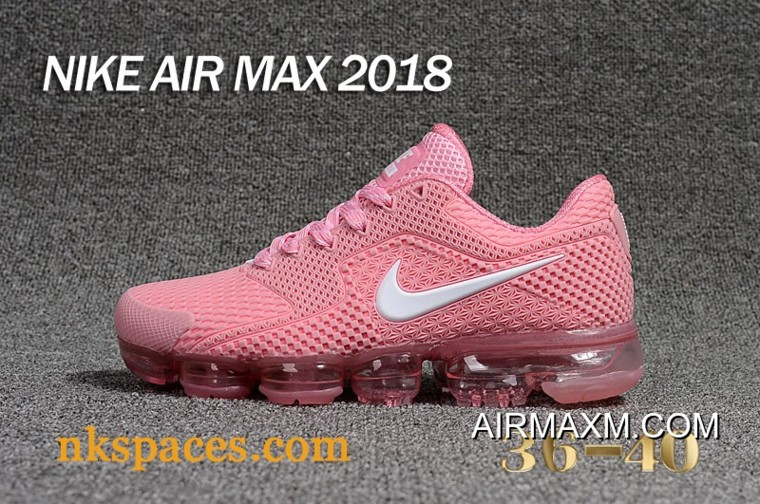09b829f731 Nike Air Vapormax 2018 Women Pink White For Sale, Price: $90.24 ...