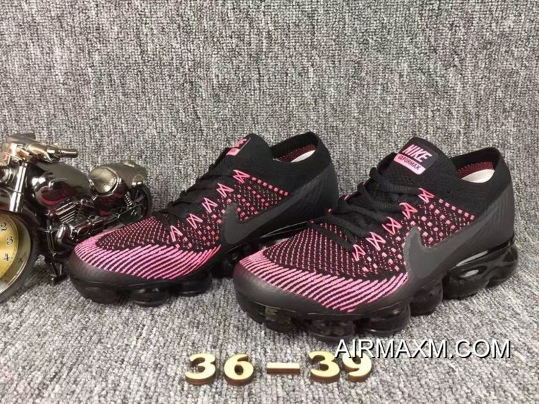 the latest eb38c ac279 Nike Air Vapormax Women Pink Black Shoes Latest