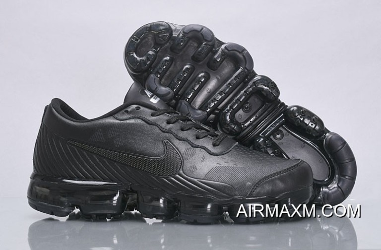 a06d8ca5c18 Nike Air VaporMax Leather All Black New Style