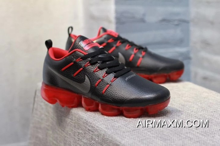 ce950be31c444 Where To Buy Nike Air VaporMax Leather Nave Black Red