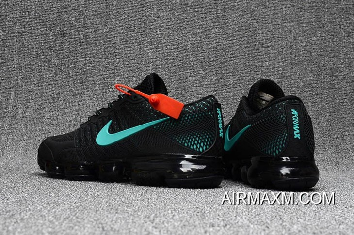 new style 3b460 a9a23 Nike Air Max 2018 Black Skyblue Shoes New Style