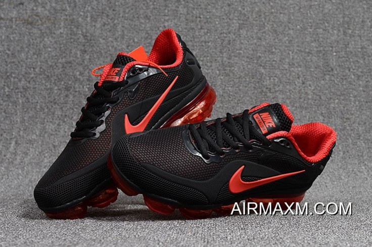 46930009b7d2 Nike Air VaporMax 2018 KPU Red Black For Sale