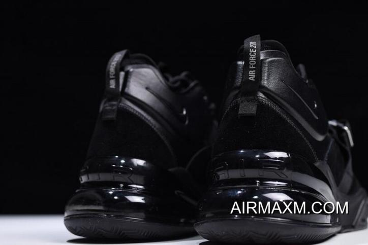 """458d6467d For Sale Nike Air Force 270 """"Triple Black"""" AH6772-003 Free Shipping ..."""