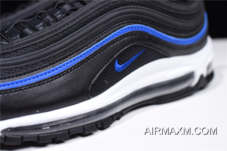 cheap for discount a6da0 91cfa Women/Men Nike Air Max 97 OG Mesh Anthracite/Black-Racer Blue AR5531-001  New Year Deals