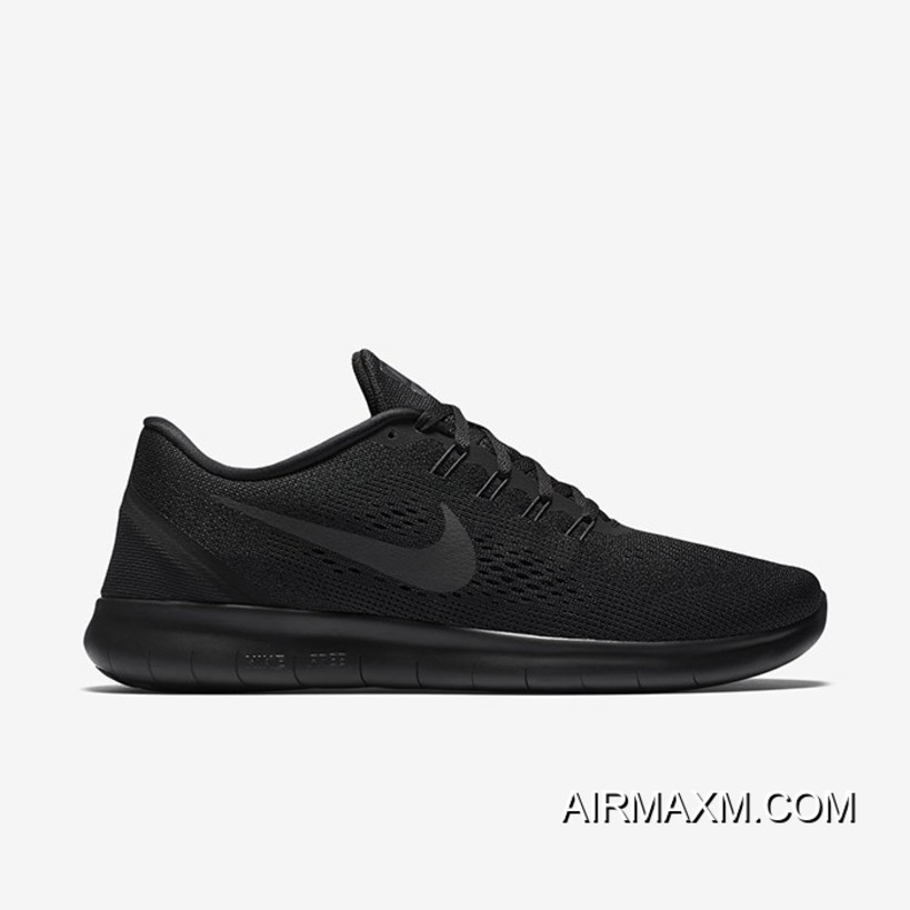 competitive price 54d27 9bfc2 New Release Nike Free RN All Black Women