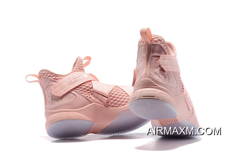 8df3baf84ee Free Shipping Nike LeBron Soldier 12 XII EP Pink AO4055-900