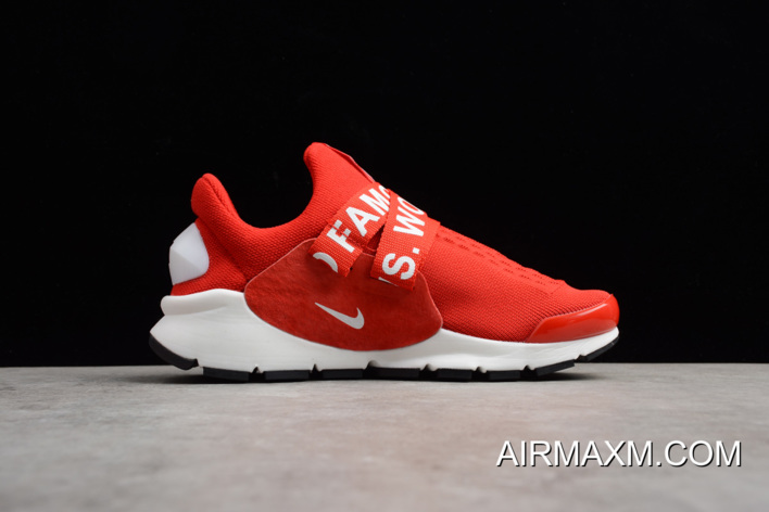 purchase cheap a4edd 4e800 New Nike Sock Dart X Supreme White Red Men's And Women's Size Shoes  Authentic